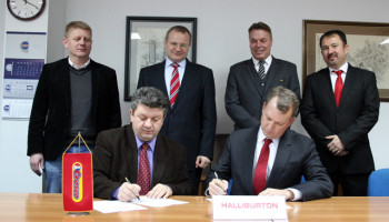 Memorandum of Understanding between Halliburton and CROSCO