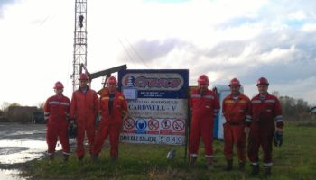 Workover rig Cardwell V – 16 years without Lost Time Injury